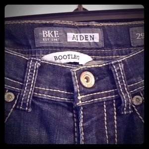 Mens BKE Aden Boot cut jeans